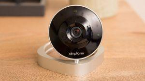 simplicam round camera
