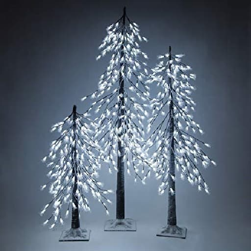 Indoor Lighted Tree White