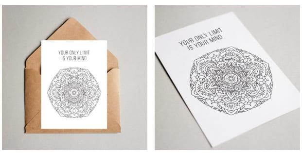 Postcard-Mandala-Design