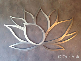 Metal-wall-art-Lotus