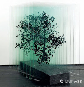 Three-Dimensional-Metallic-Art-Trees