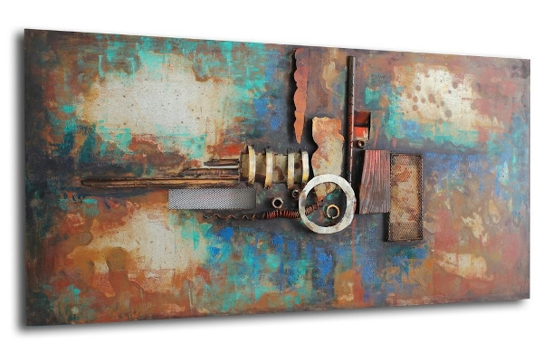 Metal Modern Art Paintings