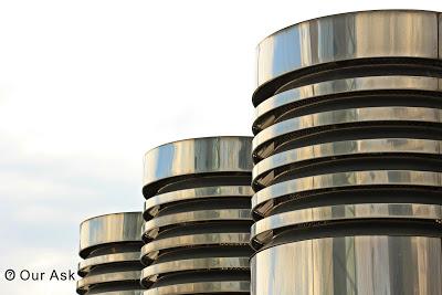 Steel columnar
