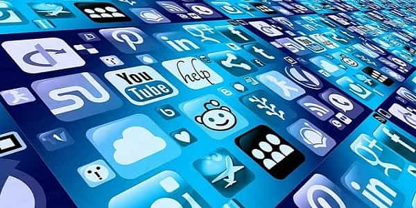 mobile apps blue